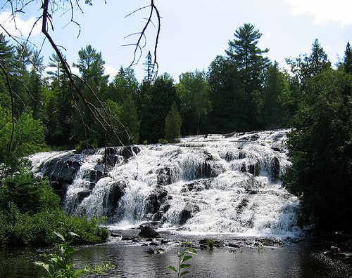 Bond Falls, near Watersmeet, Michigan