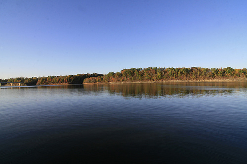 Barren River Lake, still waters